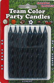 Team Color Candles - Navy Blue