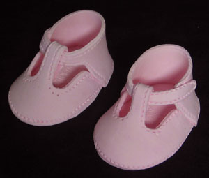 Baby Shoes - Basic - Pink Pair
