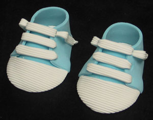 Baby Shoes - Sporty - Blue Pair