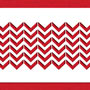 Stencil: Chevron Cake Side