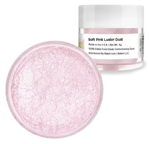 Luster Dust - Soft (Baby) Pink