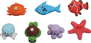Sea Critters Royal Icing Assortment