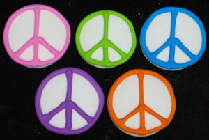 Peace Signs - Assorted Colors