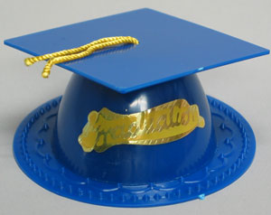 Graduation Hat - Dark Blue