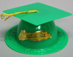 Graduation Hat - Green