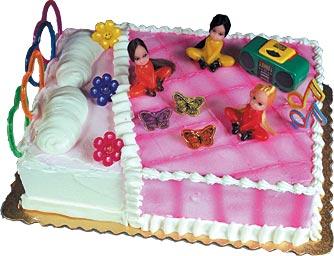 Pajama Cake Ideas