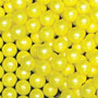 Candy Beads- 1 Lb Pearl Yellow