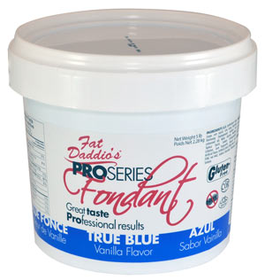 Daddio Fondant- 8 Oz- True Blue
