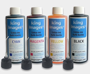 4 Oz. Refill Ink Set- Icing Images