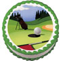 Round Of Golf Edible Image