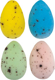 Speckled Eggs Assorted Sugars