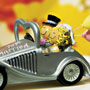 Wedding Get-A-Way Car,Whimsical Couple